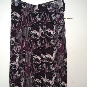3X Lularoe Disney Madison Skirt